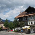 Bavyera'nın Şirin Kasabası Garmisch-Partenkirchen-ARABAYLA GARMISCH-PARTENKIRCHEN ALMANYA