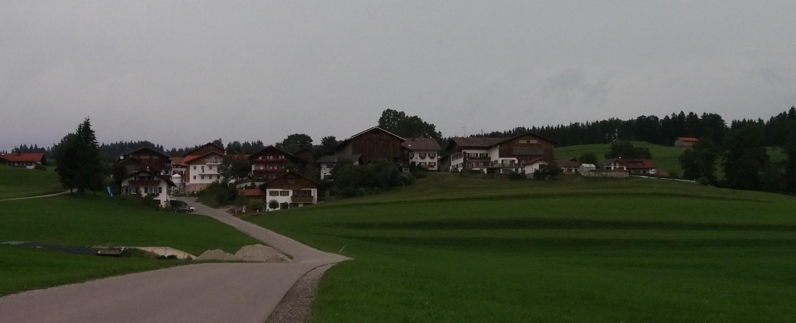 Orda Bir Köy Var Alpler'de Heimen-Hopferau-ARABAYLA ROMANTİK YOL