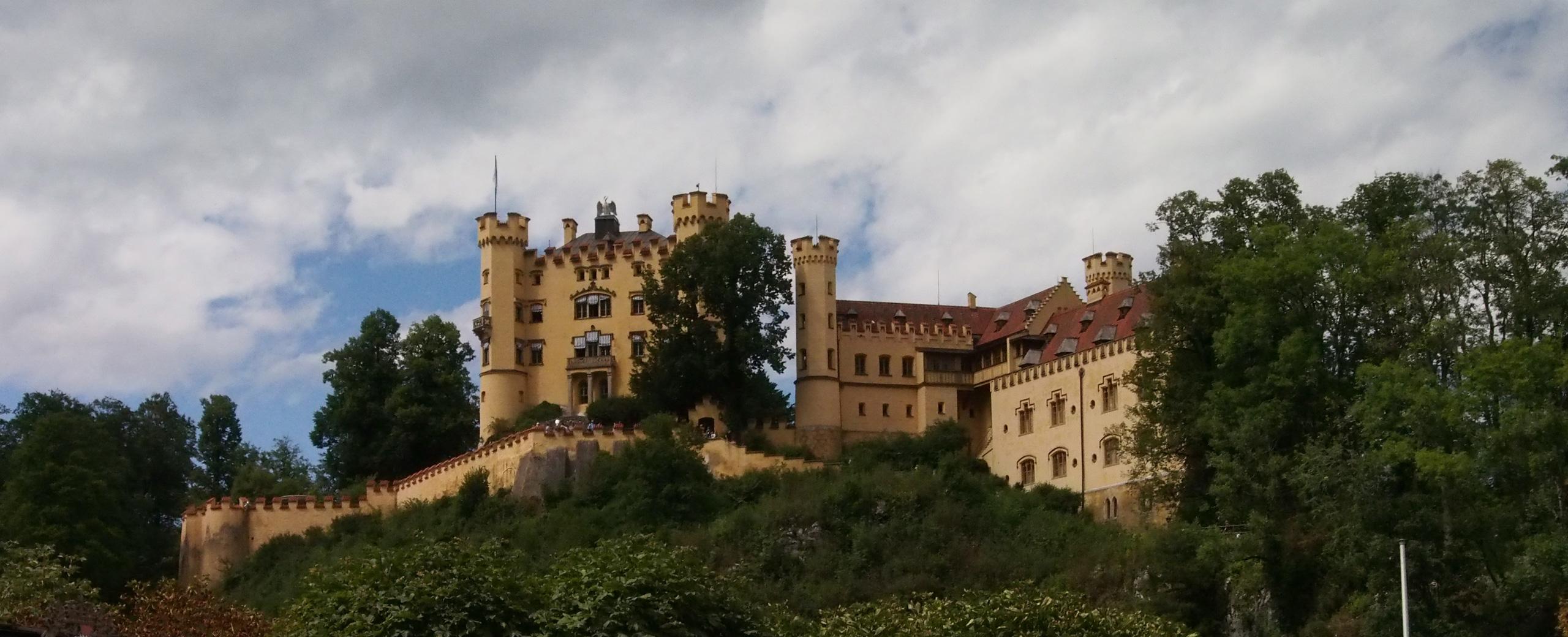 Romantik Yolun Romantik Kaleleri-Hohenschwangau Kalesi-ARABAYLA ROMANTİK YOL#2