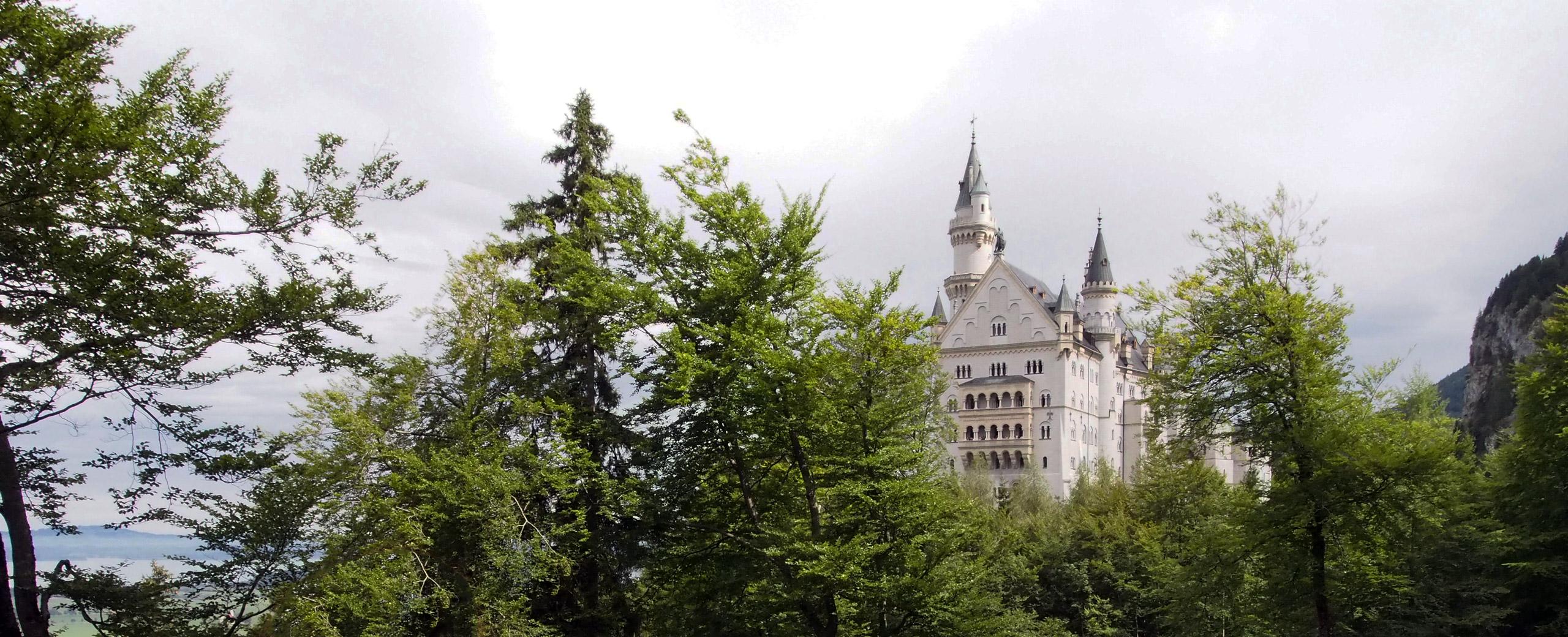 En güzel Peri Masalı Şatosu Neuschwanstein-ARABAYLA ROMANTİK YOL#3